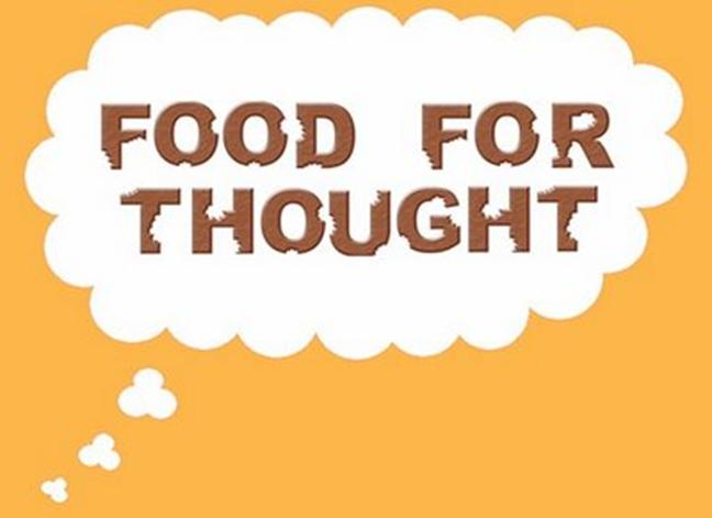 food for thought Food for thought home about mentions welcome menu dinner menu breakfast menu lunch menu magic 55 menu gluten free menu.